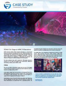 SDVoE case study - MWC19 Barcelona