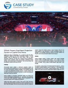 SDVoE case study - Capital One Arena