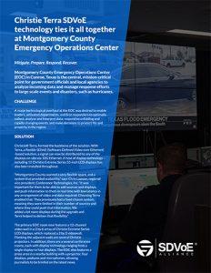 SDVoE case study - Montgomery County Emergency Operations Center