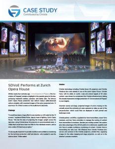 SDVoE case study - Zurich Opera House