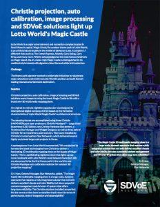 SDVoE case study - Lotte World's Magic Castle