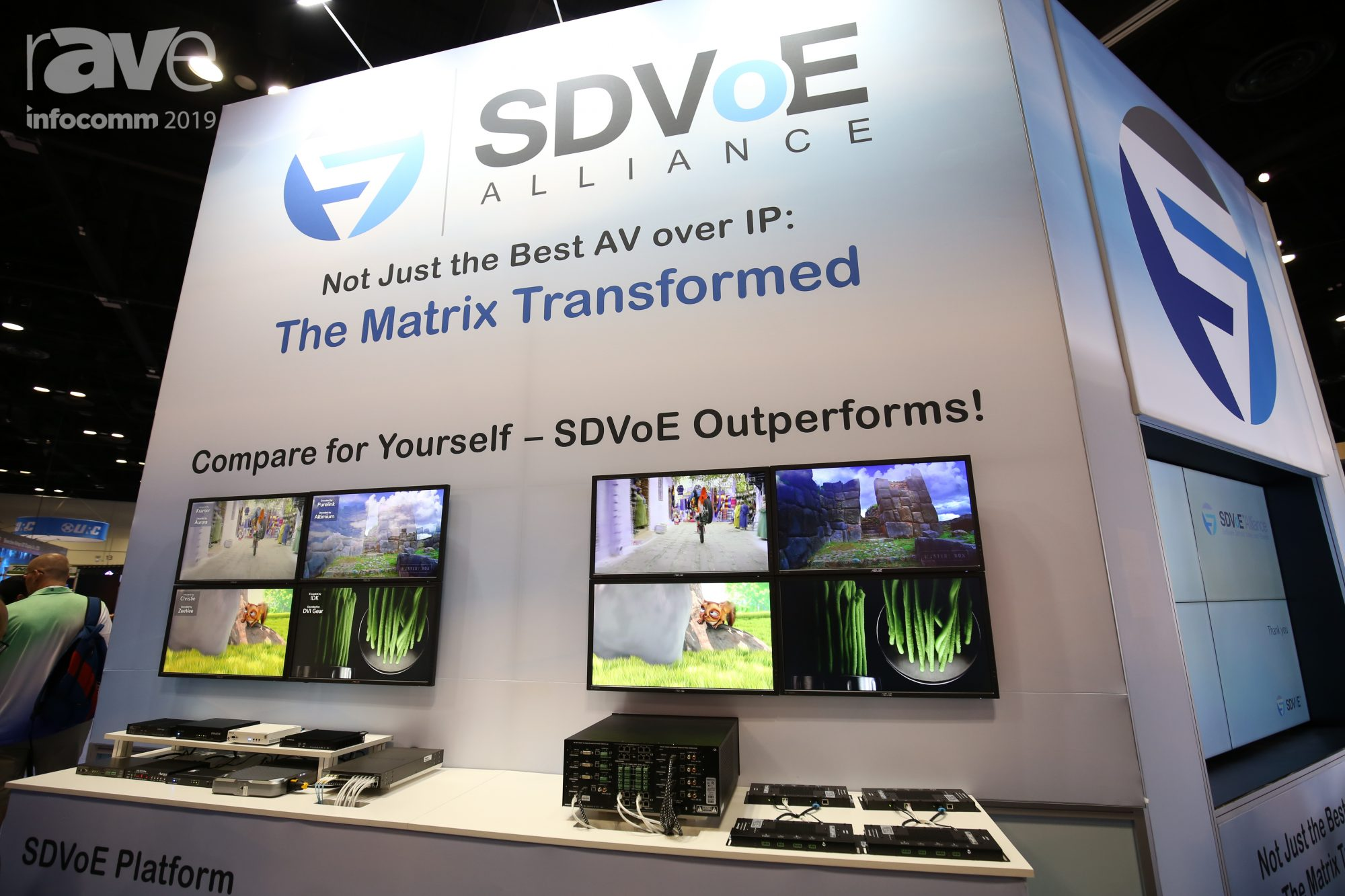 Hands on with the New Matrix Switch - SDVoE