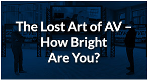 SDVoE LIVE! Episode 7 – The Lost Art of AV – How Bright Are You?